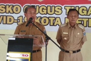 Wakil Walikota Metro Ajak Masyarakat Kompak Lawan Corona