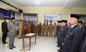20 Pejabat Tinggi Pratama Di Pesisir Barat Dilantik