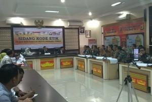 Belasan Penyelenggara Pemilu Di Lampung Jalani Sidang Kode Etik