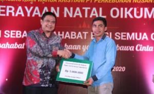 Perayaan Natal Karyawan PTPN VII, Momentum Memperkuat Kebersamaan Berlandaskan Kasih