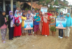 Relawan Bandarlampung Berjamaah Bantu Warga Terkena Musibah
