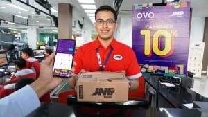 Dompet Digital OVO Jalin Kerja Sama Dengan JNE
