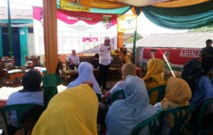 Bareng Ustad Solmed, Arinal-Nunik Sapa Warga Bandarlampung