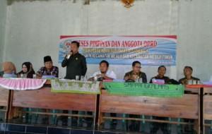 DPRD Mesuji Sukses Gelar Reses Masa Sidang Pertama Tahun 2018