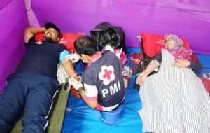 Songsong Hari Pahlawan, PTPN VII Bekri Senam Bersama Warga
