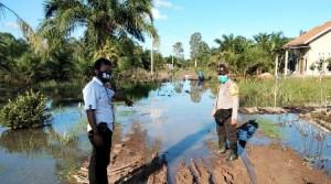 Banjir Di Rawapitu, 73 Rumah Terendam