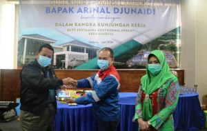 Gubernur Dukung Pengembangan Geothermal Di Tanggamus