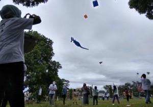 Dinas PUPR Lampung Gelar Festival Layang-Layang