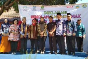 Sukseskan Satu Hari Belajar Di Luar Kelas, Kementerian PPPA Kampanye Di Pringsewu