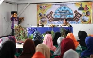 Septi Istiqlal Buka Pelatihan Diversifikasi Produk Tapis