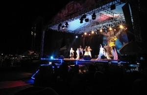 Ribuan Warga Saksikan Pembukaan Festival Sekala Bekhak VI