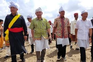 Sharing Time Megalithic Melenium Art, Umar Ahmad Sampaikan Pesan Pelestarian Kebudayaan