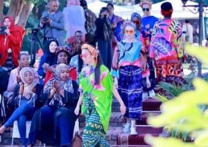 Batik Lampung Hadir Di Afrika Selatan
