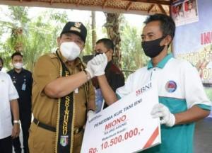 Gubernur Lampung Luncurkan Kartu Petani Berjaya Di  Pringsewu