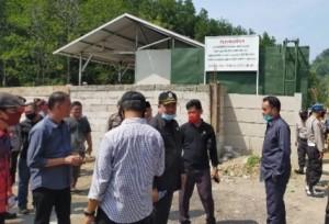 DPRD Pesawaran Batal Robohkan Tembok Pembatas Akses Pantai Sari Ringgung